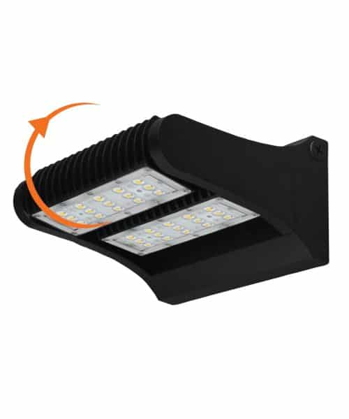 Twin LED Wall Pack Light