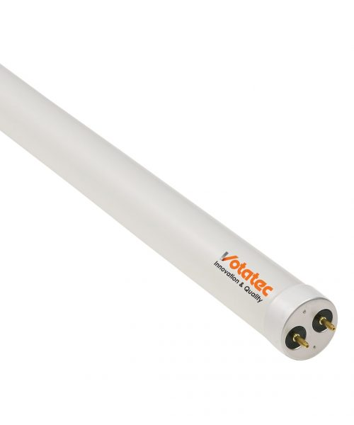 4FT T8 Glass LED Tube with Plastic Coating