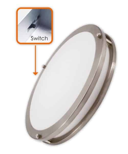 3Way CCT Adjustable 15″ Slim Flush Mount