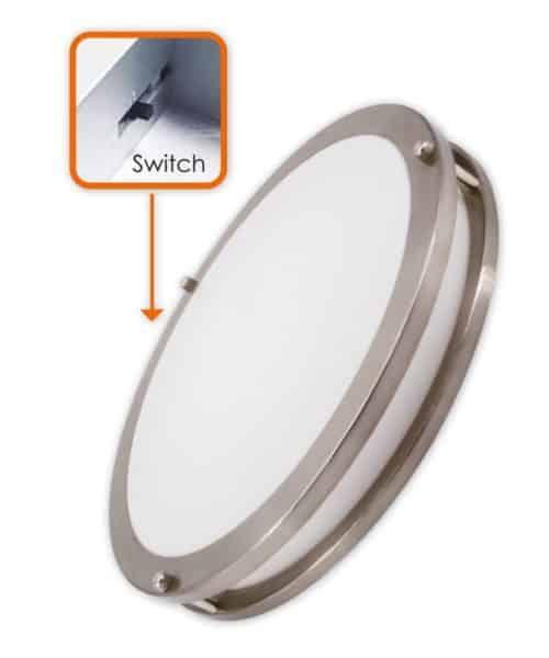 3Way CCT Adjustable 15″ Slim Flush Mount