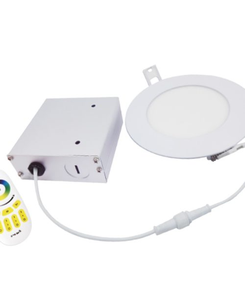 RGB 4″ Dimming & CCT Adjustable With RC